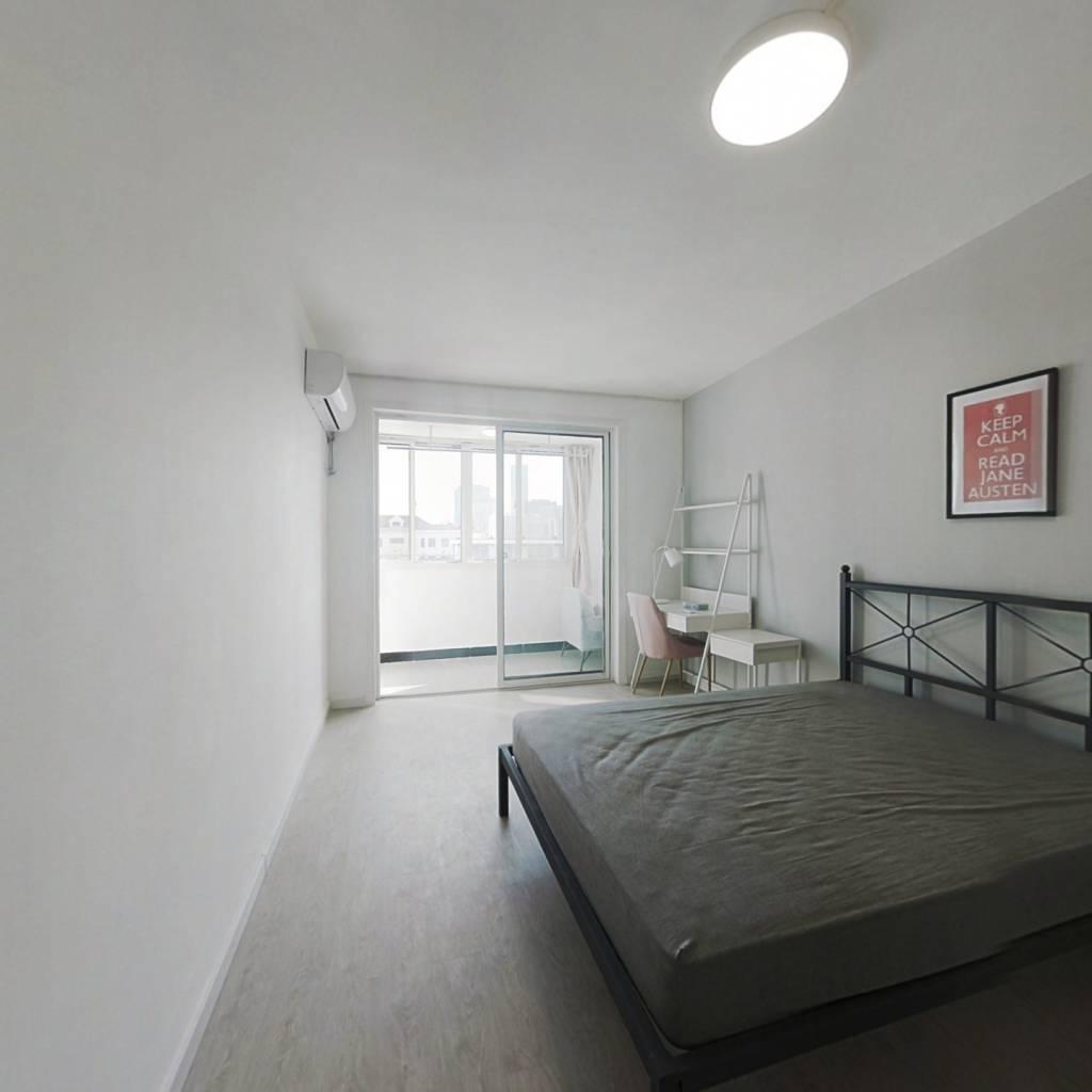 合租·济阳三村 3室1厅 南卧室图