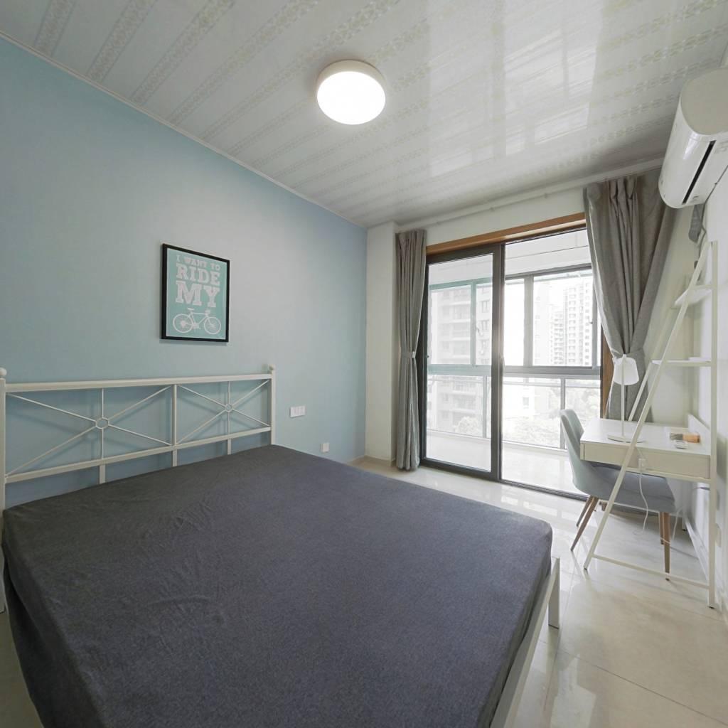 合租·水湘人家东苑 3室1厅 北卧室图