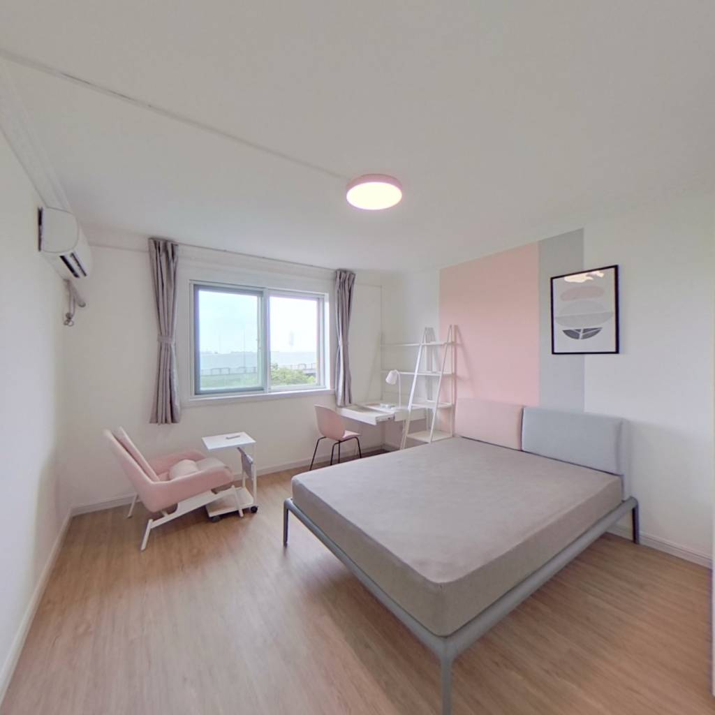 合租·宝安新苑 4室1厅 北卧室图