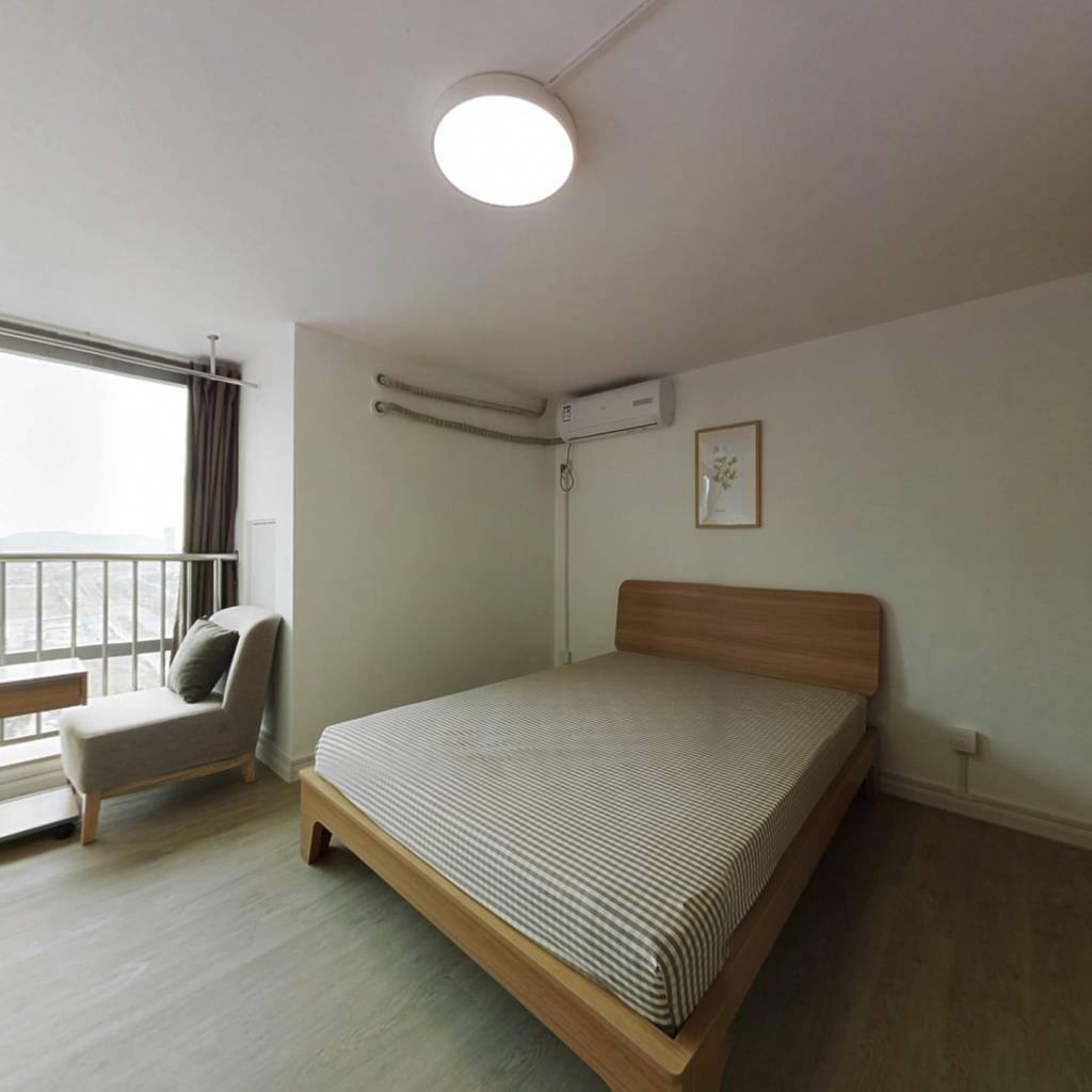 合租·绿城深蓝mix悦享家 2室1厅 西卧室图