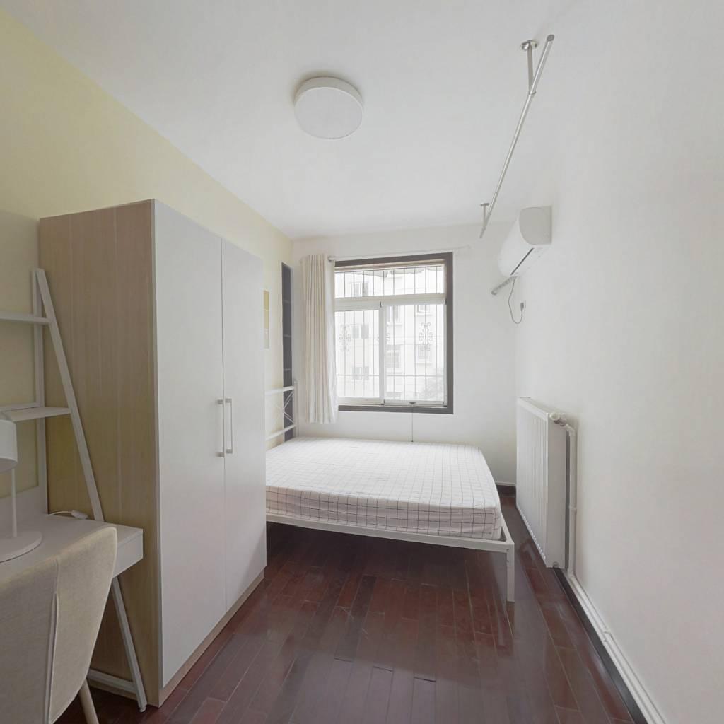 合租·华锦花园二期 4室1厅 南卧室图