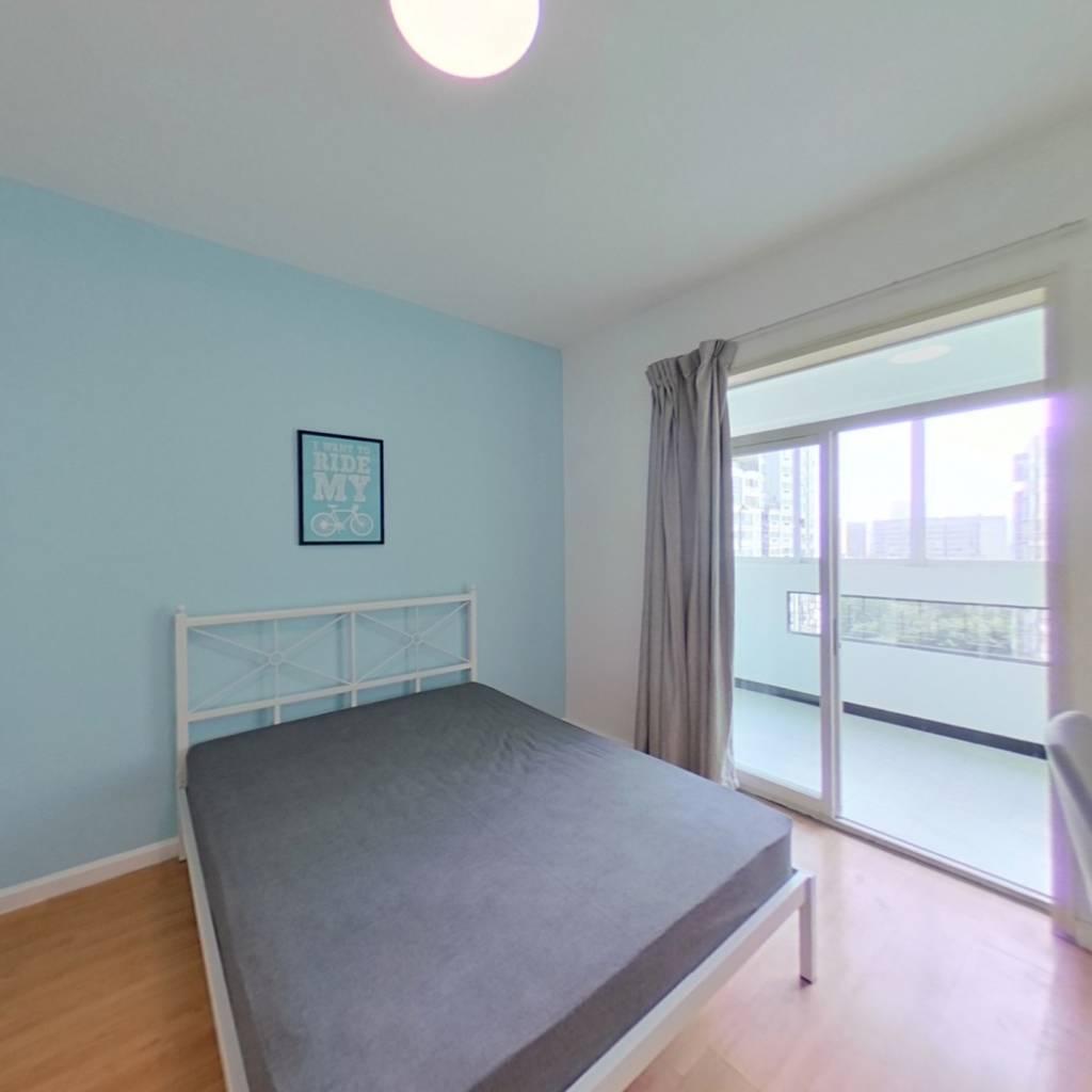 合租·绿杨新邨 3室1厅 西南卧室图