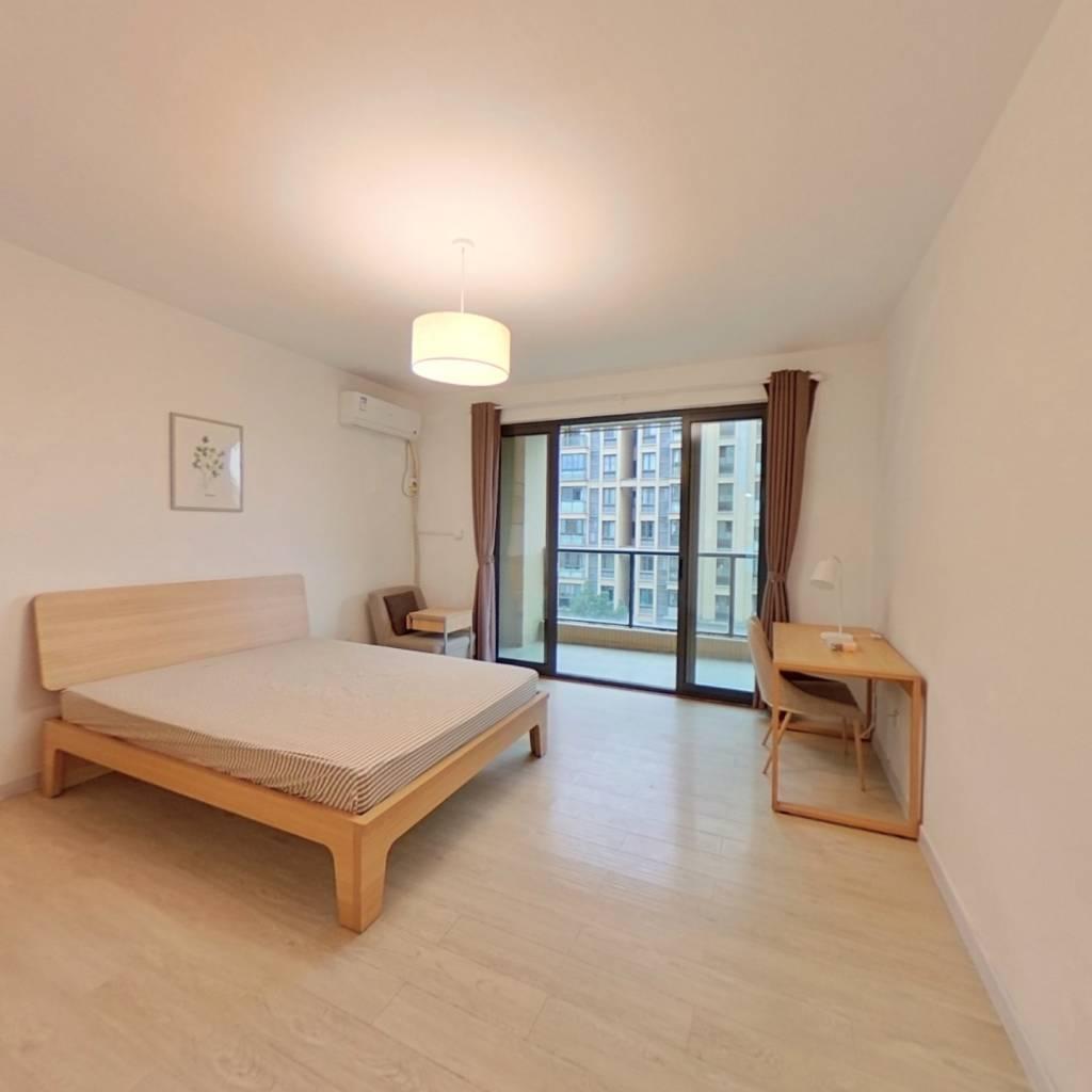合租·中海紫藤苑 3室1厅 南卧室图