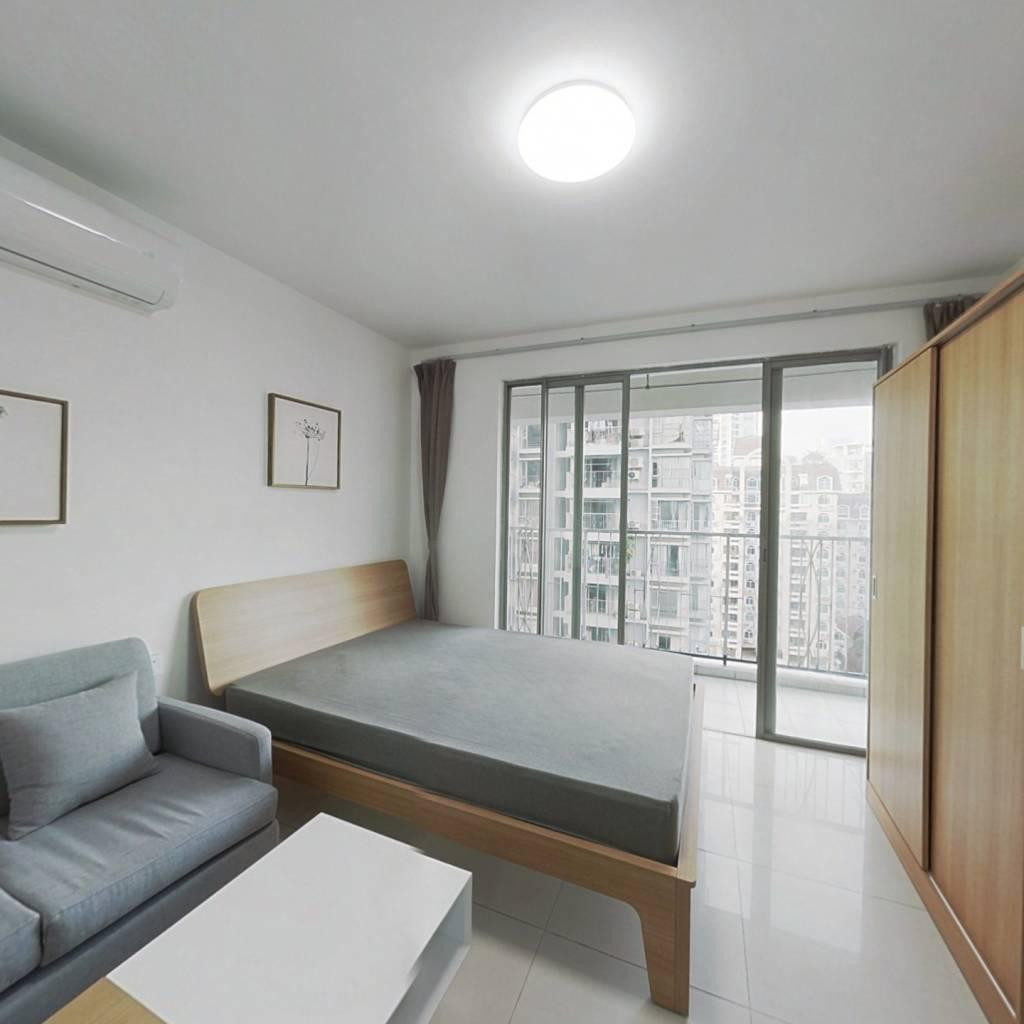 整租·五洲星苑 1室1厅 南卧室图