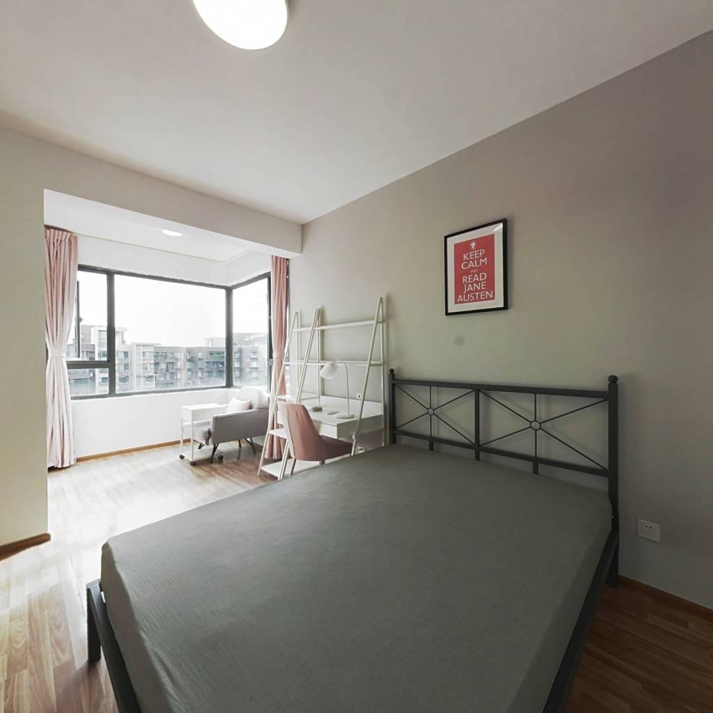 合租·龙湖三千里B区二期 3室1厅 南卧室图