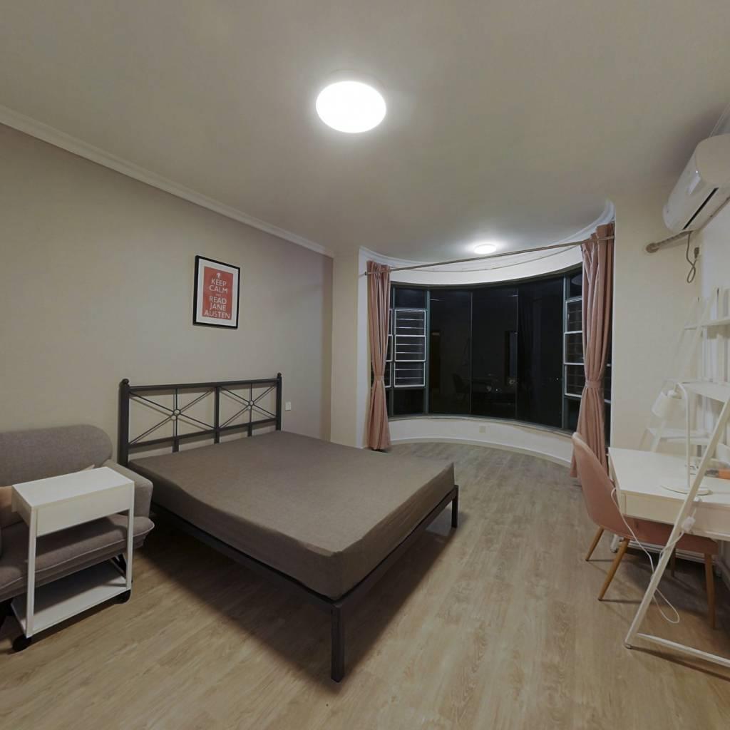 合租·华南新城 4室1厅 南卧室图