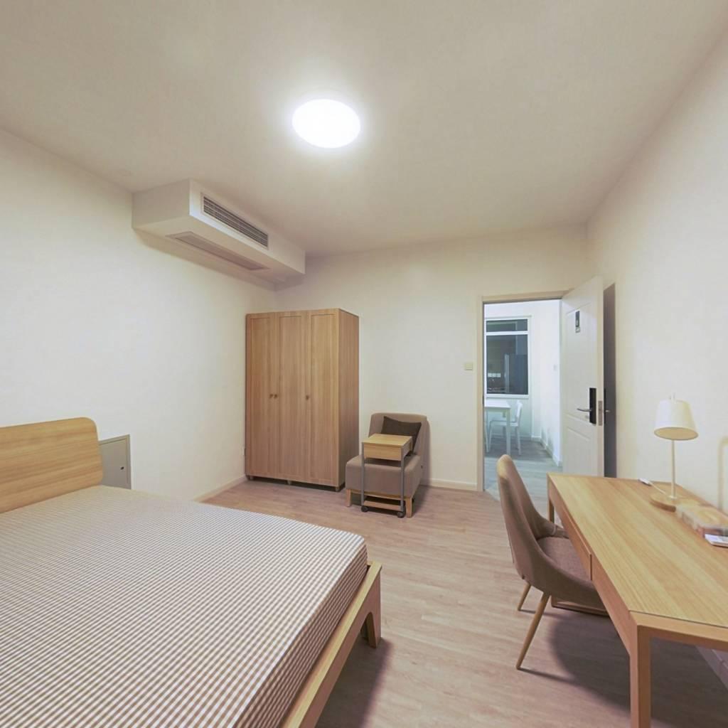 合租·融创臻园 4室1厅 北卧室图