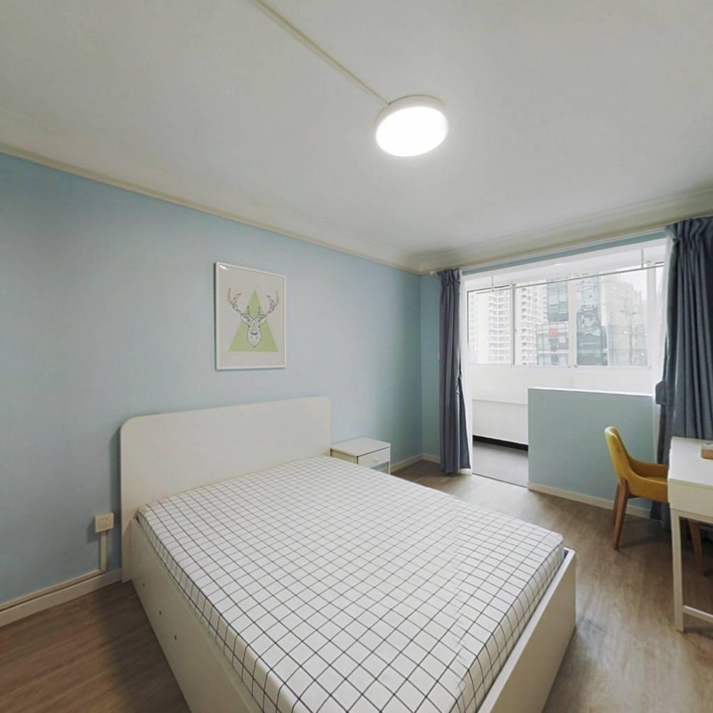 整租·海天公寓 2室1厅 南北卧室图