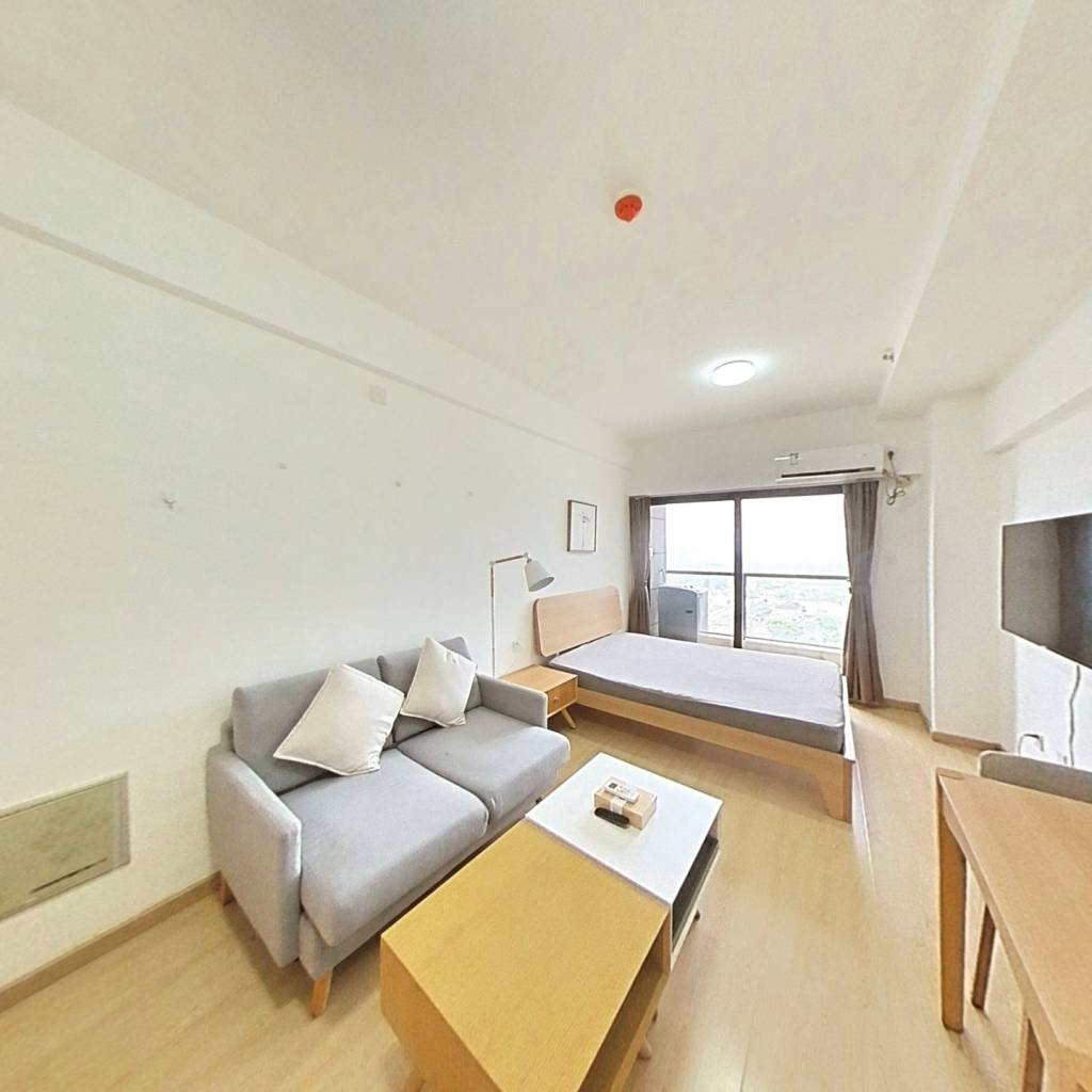 整租·龙湖北城天街 1室1厅 西卧室图