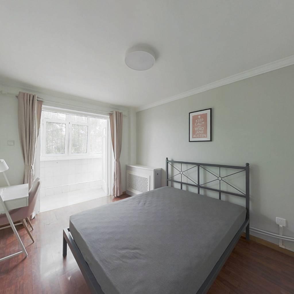 合租·金谷园(南开区) 3室1厅 西卧室图