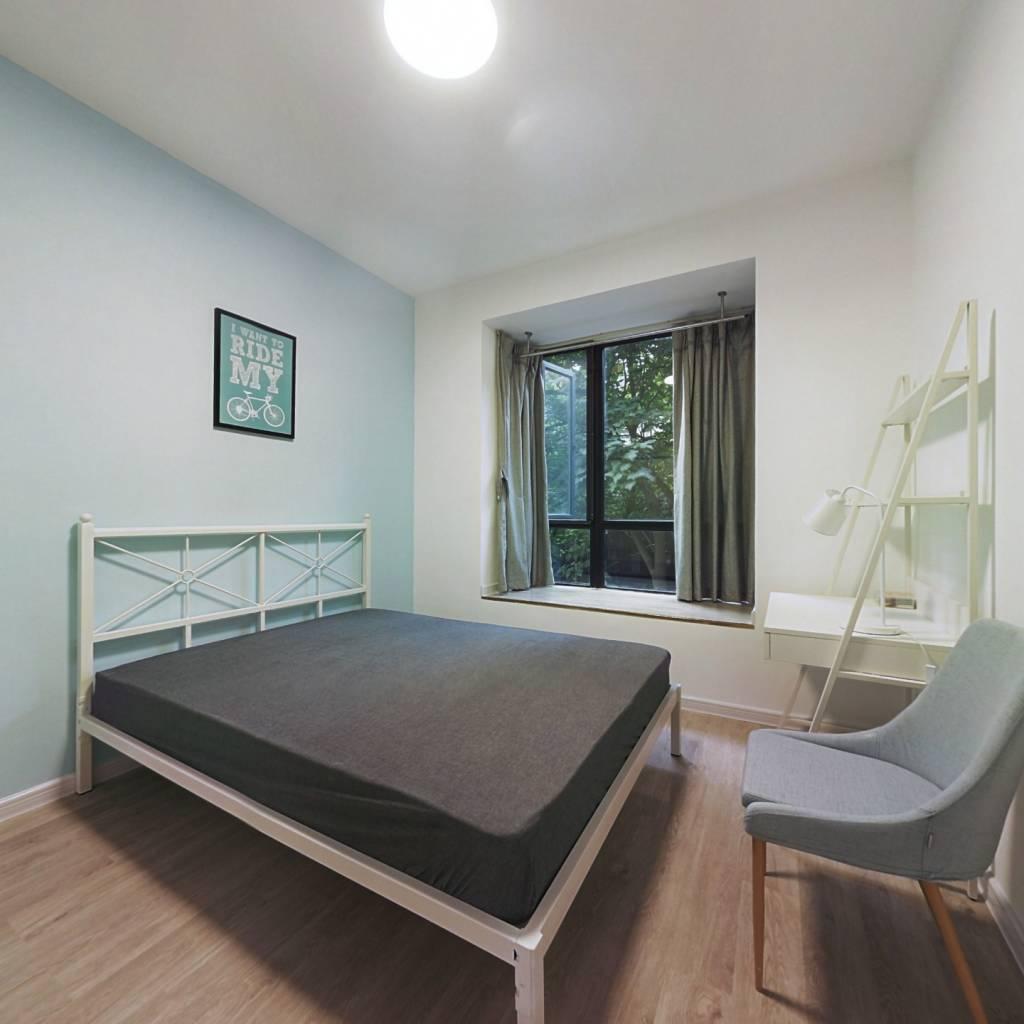 合租·成达佳园 4室1厅 南卧室图