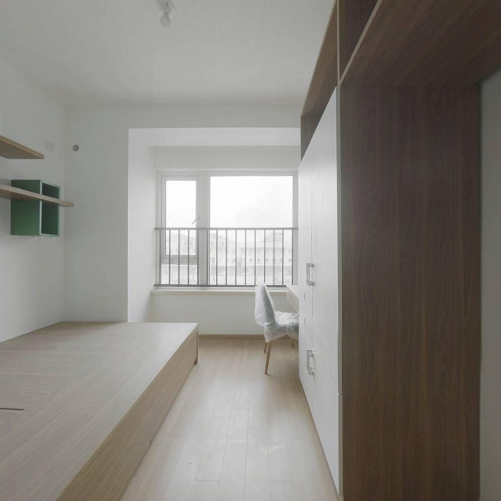 网红小公寓,万科物业服务好,安全,住的适心