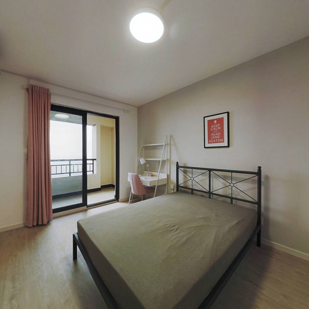 合租·统建新干线 3室1厅 南卧室图