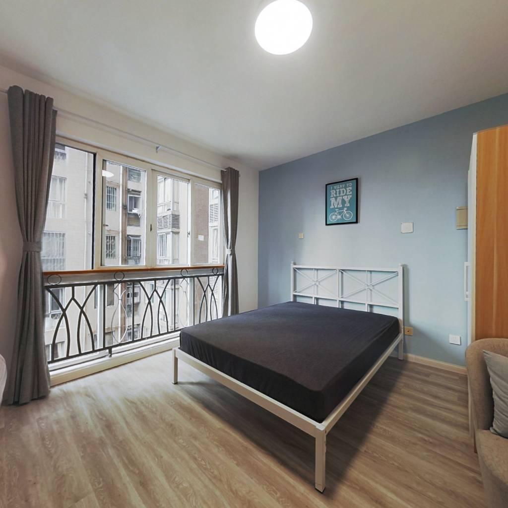 合租·丽景华庭二期 4室1厅 东卧室图