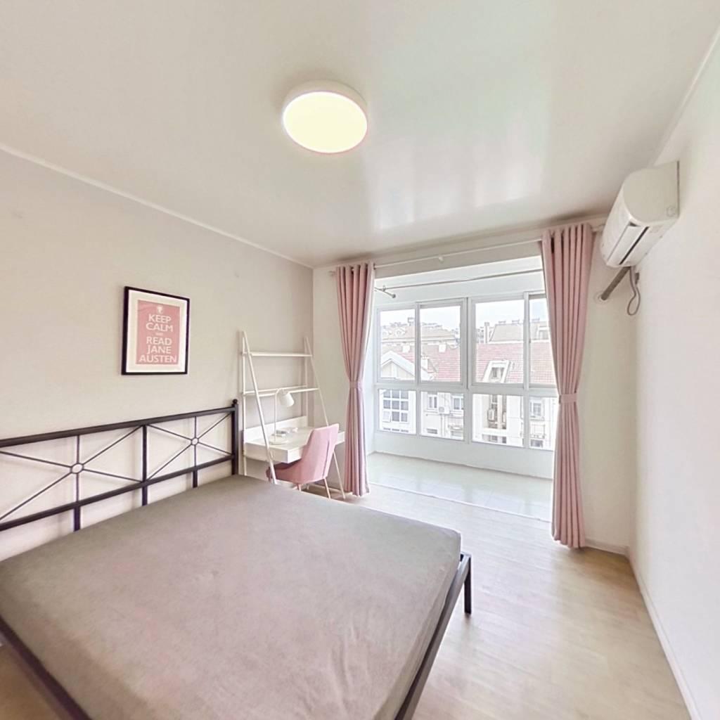 合租·天悦花园 3室1厅 北卧室图
