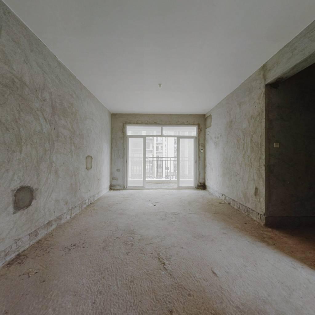 港城花园 电梯中层 南向大3房 户型通透 格局方正