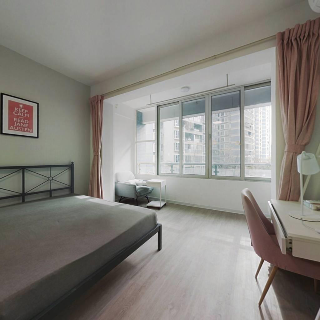 合租·现代城 3室1厅 西南卧室图