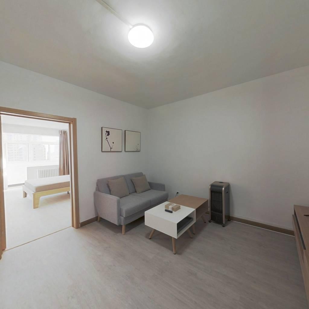 整租·南沙滩小区 1室1厅 南卧室图