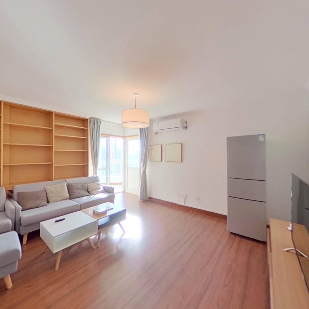 整租·望京花园西区 2室1厅 东南卧室图