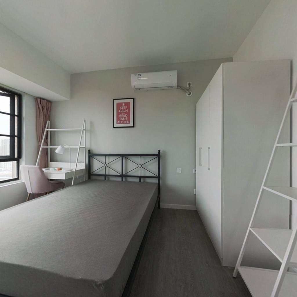 合租·蓝光公园悦庭 4室1厅 东卧室图
