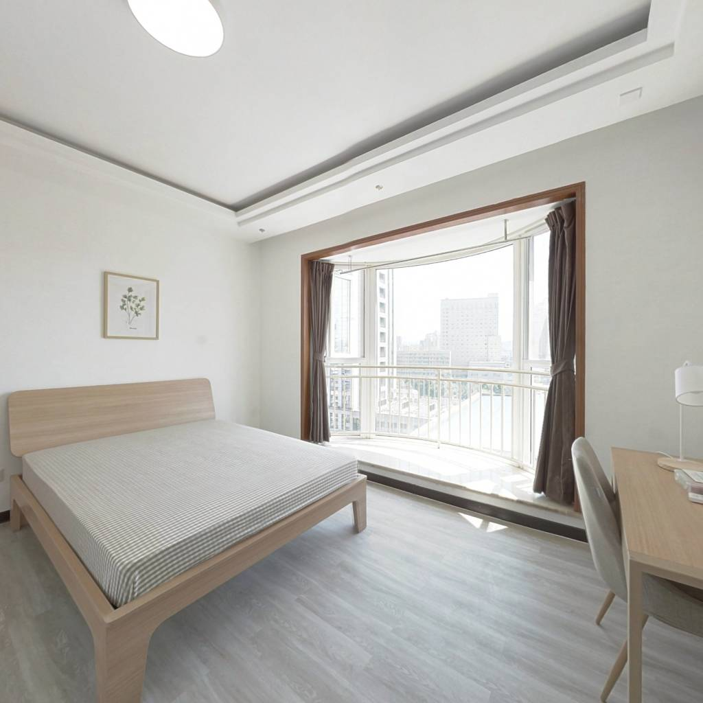合租·建银大厦 4室1厅 南卧室图