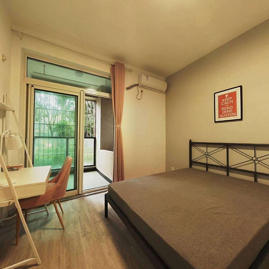 合租·经纬学府涵青花园(二期) 3室1厅 南卧室图