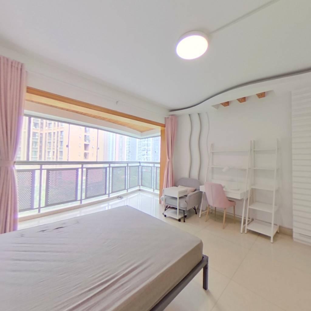 合租·千居朝阳 4室1厅 西卧室图