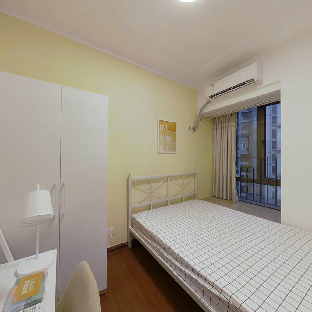 合租·富力现代广场 4室1厅 南卧室图