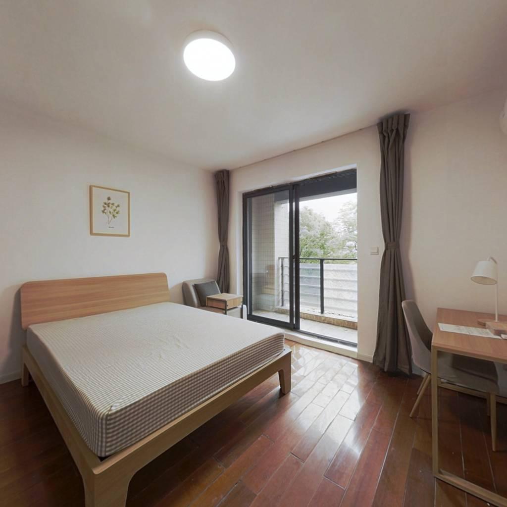 合租·通和戈雅公寓 4室1厅 南卧室图