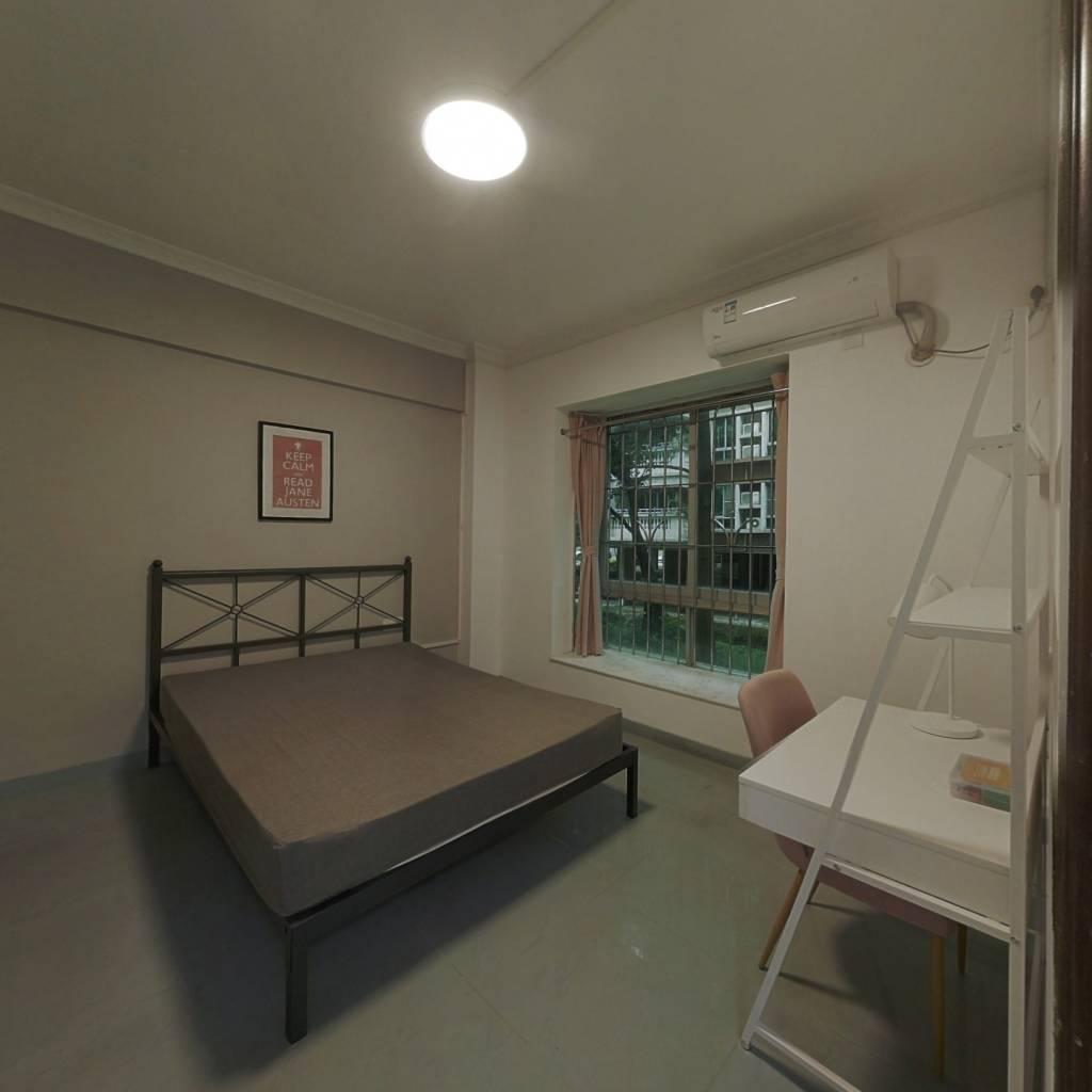 合租·东华花园 4室1厅 北卧室图