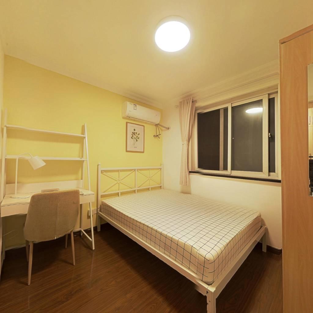 合租·航华四村 3室1厅 南卧室图