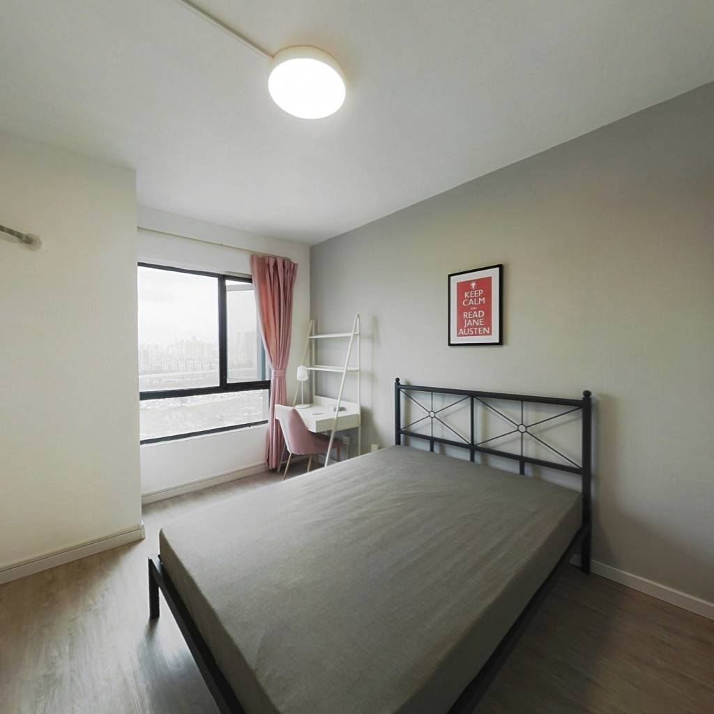 合租·石桥花园A区 4室1厅 西卧室图