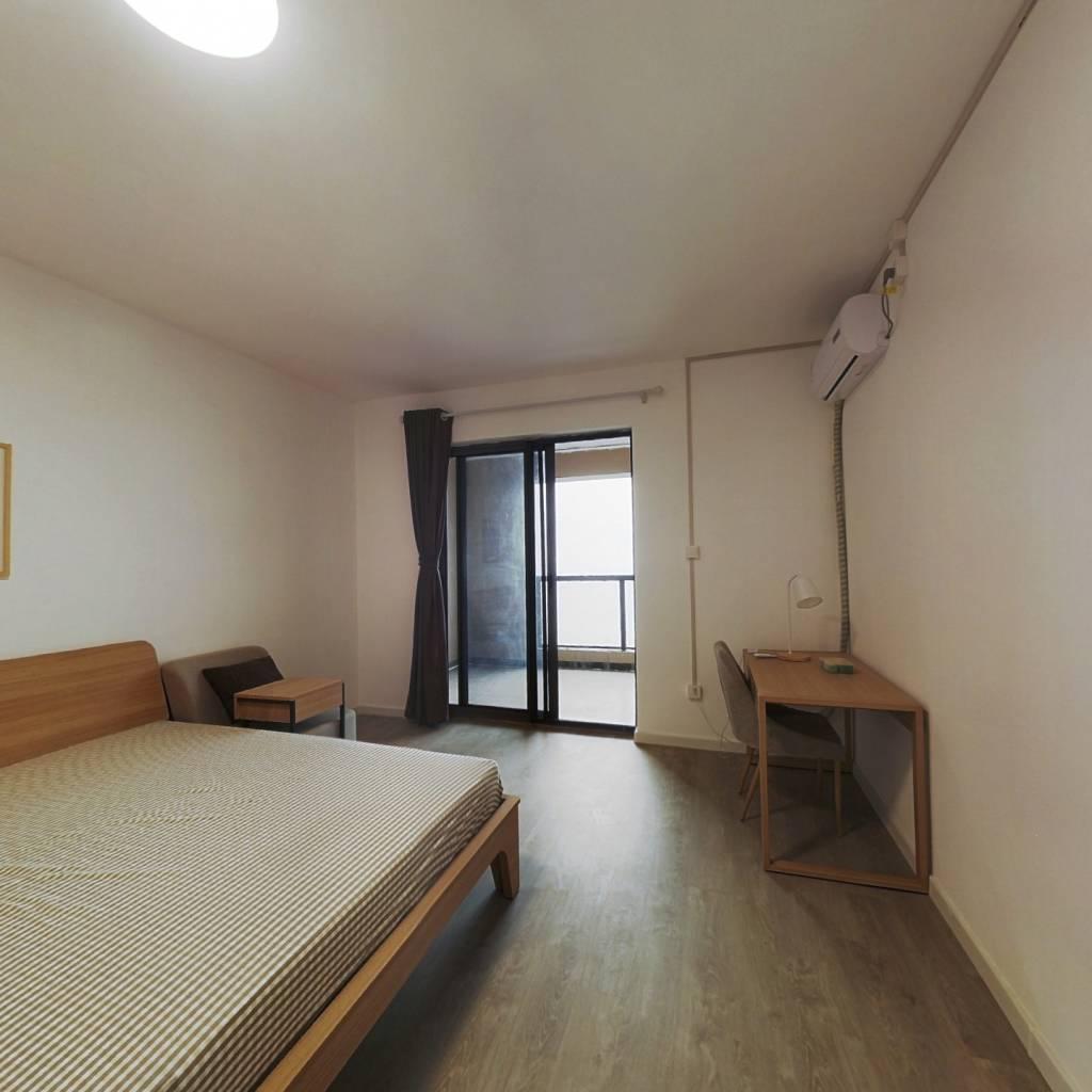合租·世茂锦绣长江五期 4室1厅 北卧室图