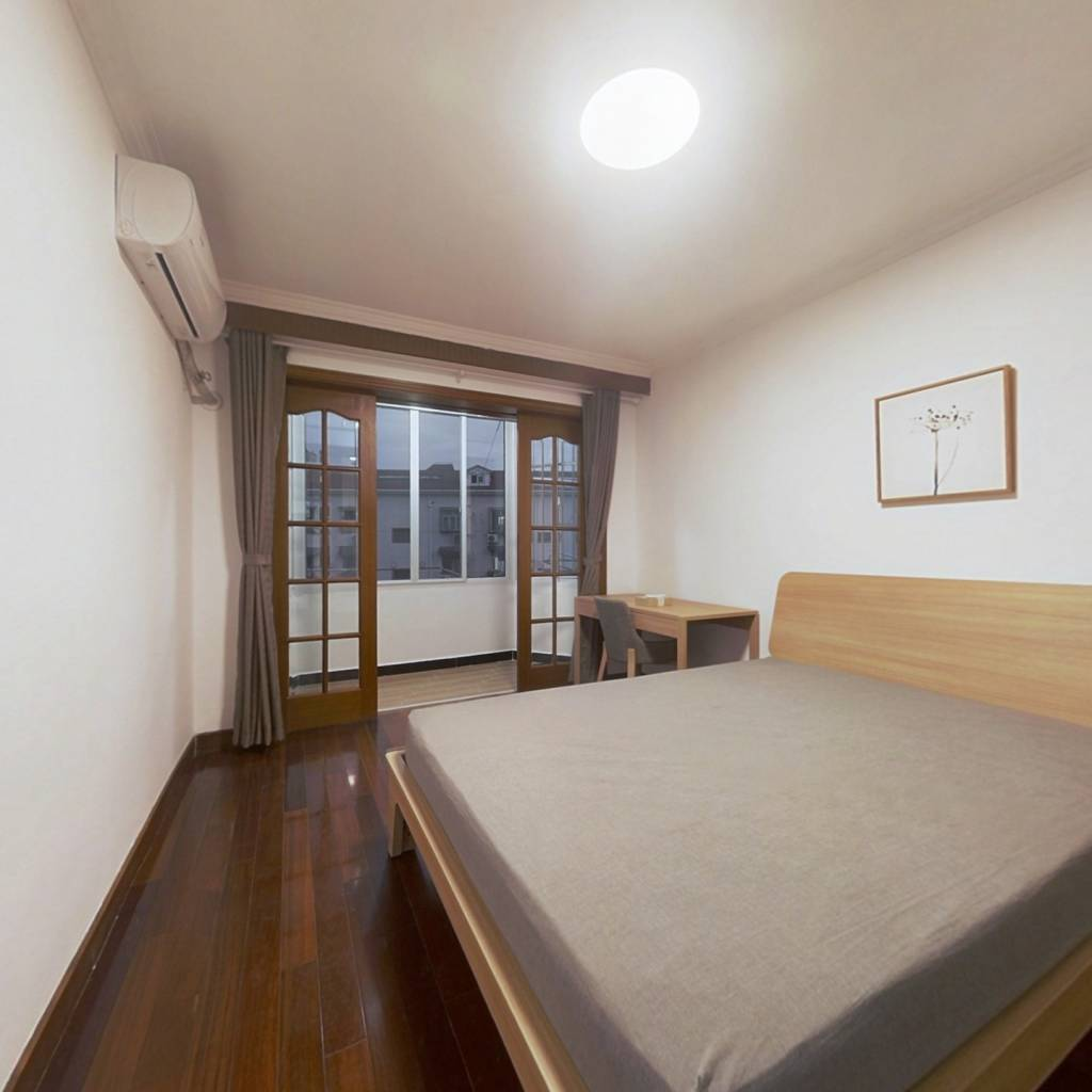 整租·薛家宅小区 1室1厅 南卧室图
