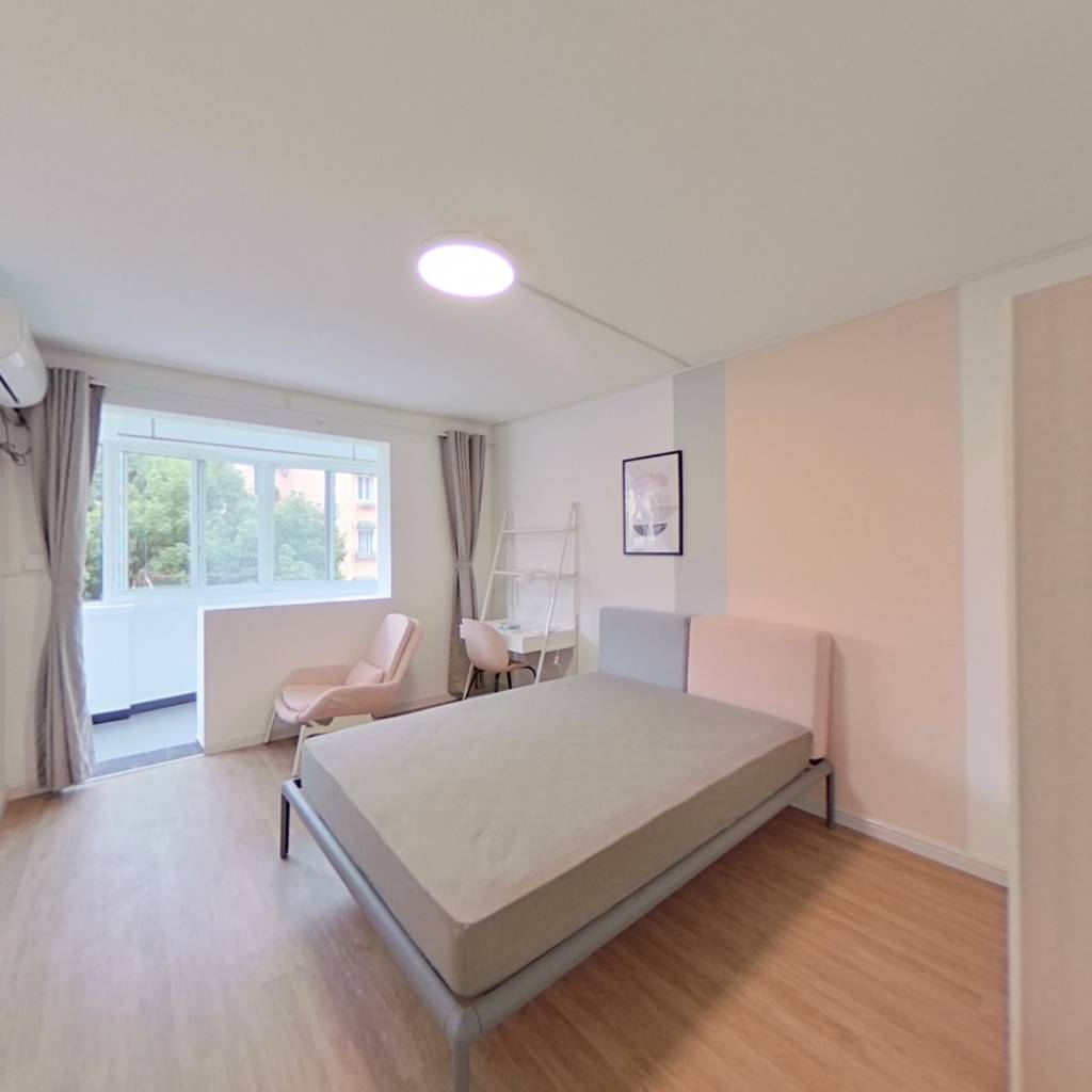 合租·龙柏三村 3室1厅 北卧室图