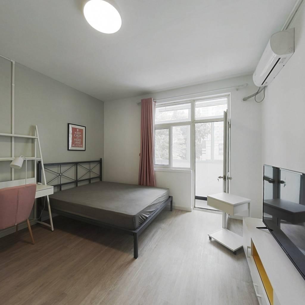 合租·三里河三区 3室1厅 南卧室图