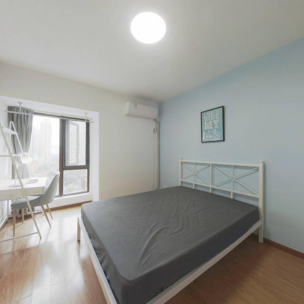 合租·华润二十四城二期 4室1厅 南卧室图