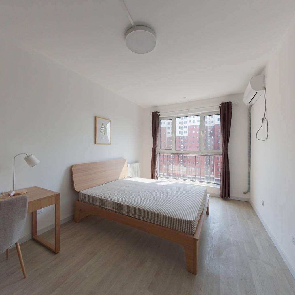 合租·友谊嘉园三期 3室1厅 南卧室图