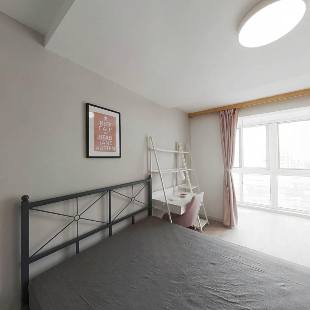 合租·上东三角洲 4室1厅 南卧室图