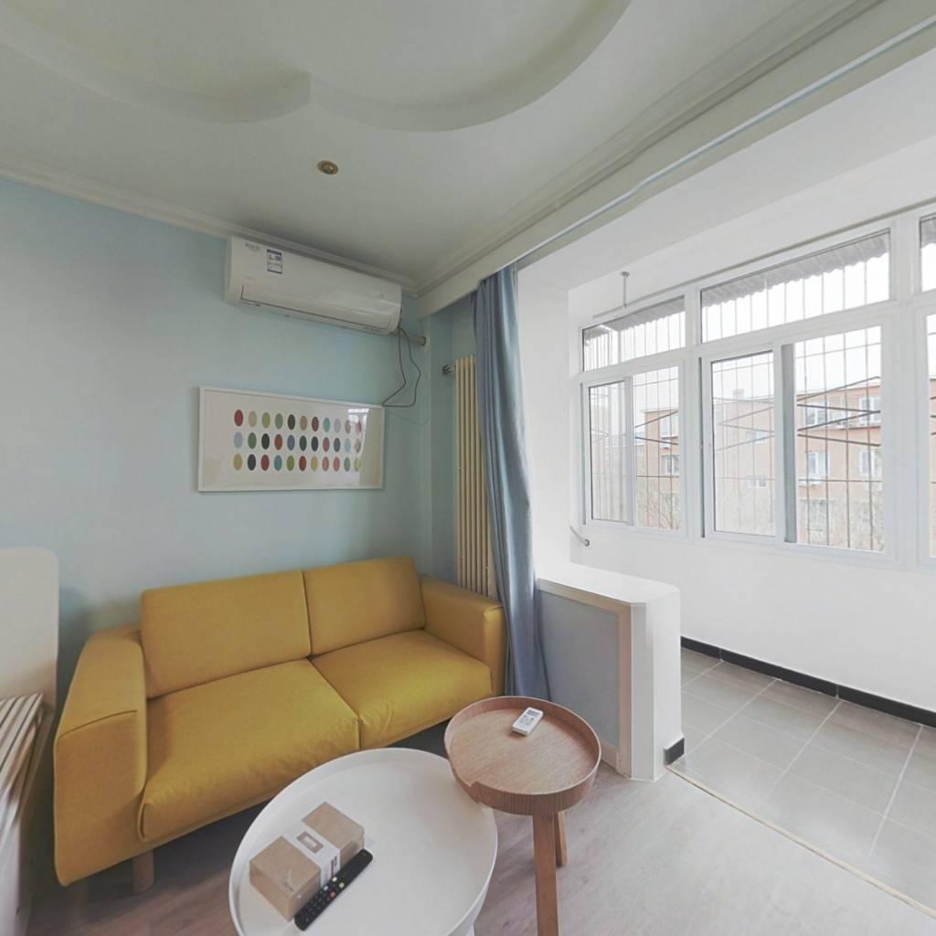 整租·双榆树北里 2室1厅 南北卧室图