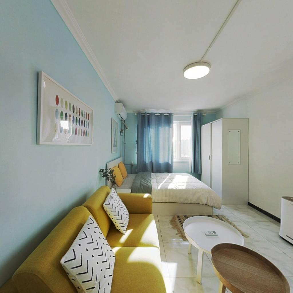 整租·太平桥东里 2室1厅 西南卧室图