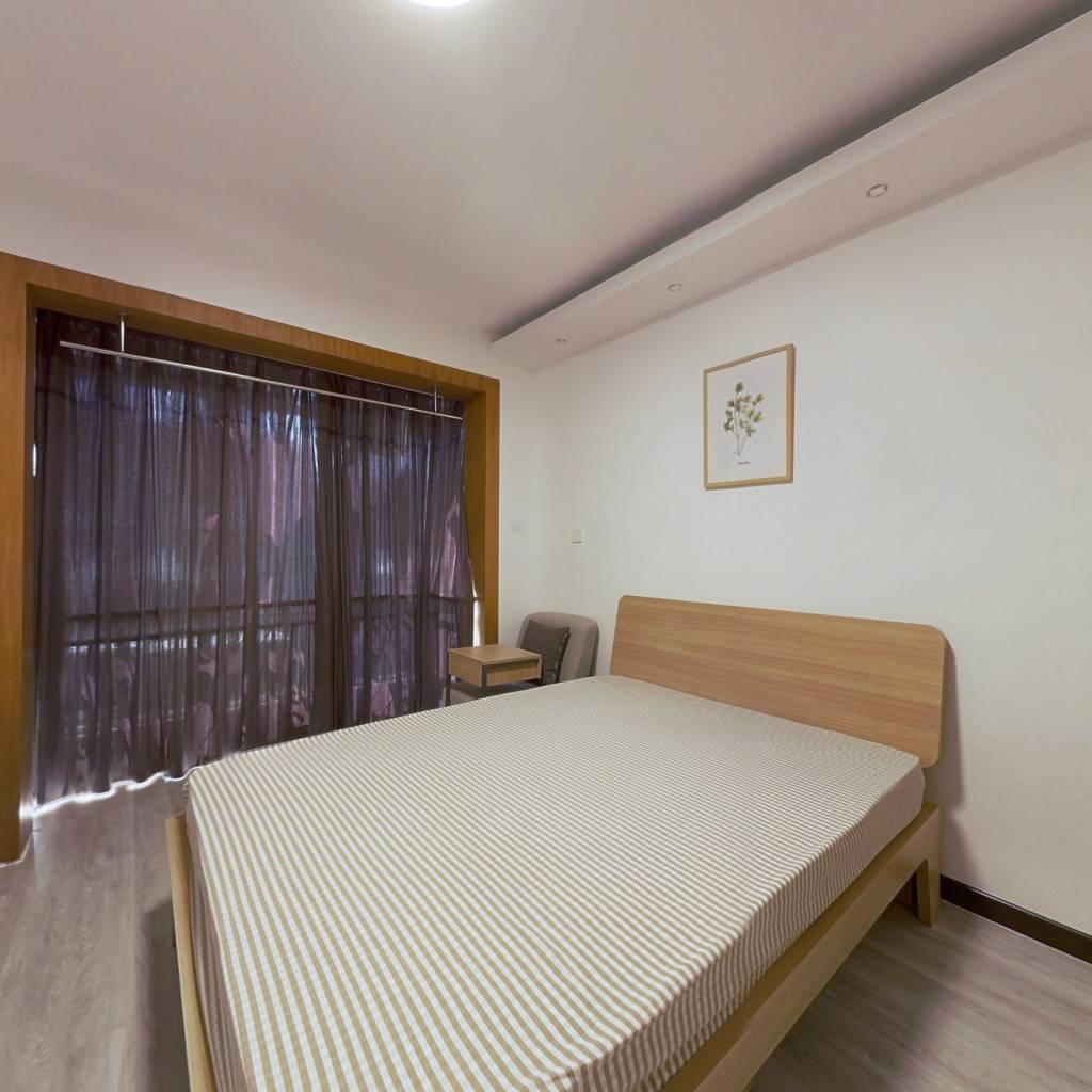合租·莲花新区 3室1厅 北卧室图