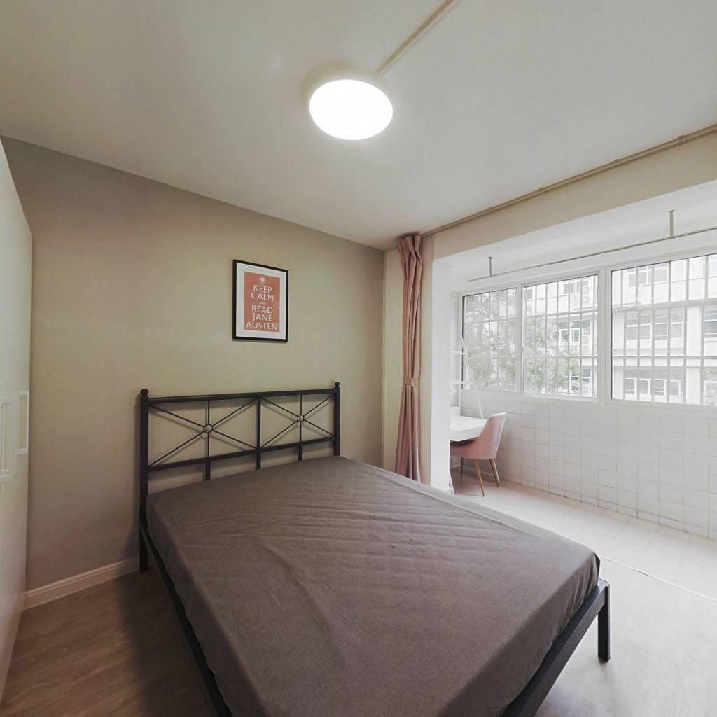 合租·瑞金路50号院 2室1厅 南卧室图
