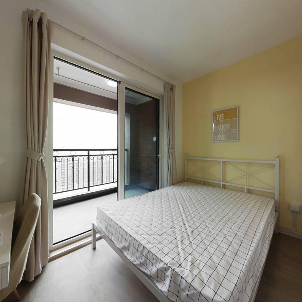 合租·新城红郡 4室1厅 南卧室图