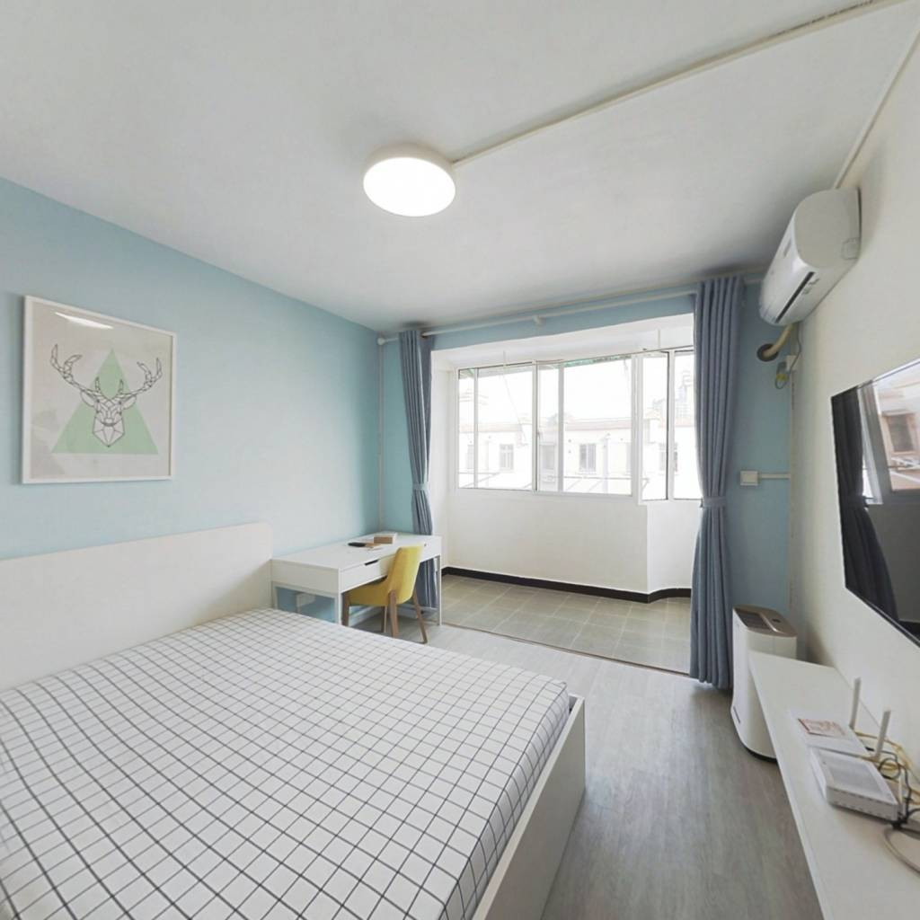 整租·北茶园 2室1厅 南卧室图