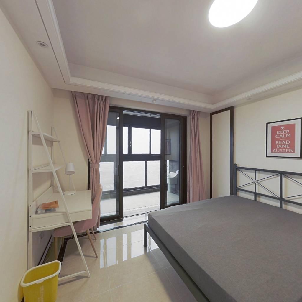 合租·保利熙悦 4室1厅 北卧室图