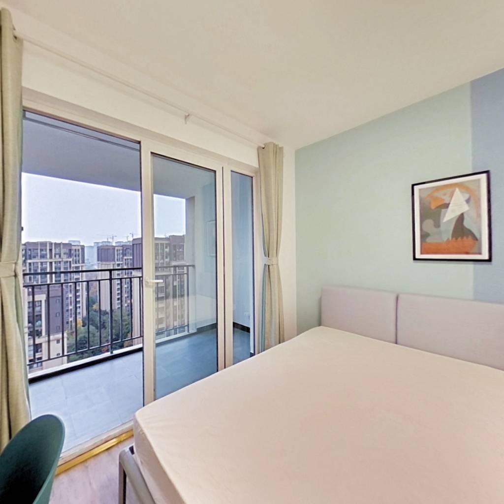 合租·上东一号一期 3室1厅 南卧室图