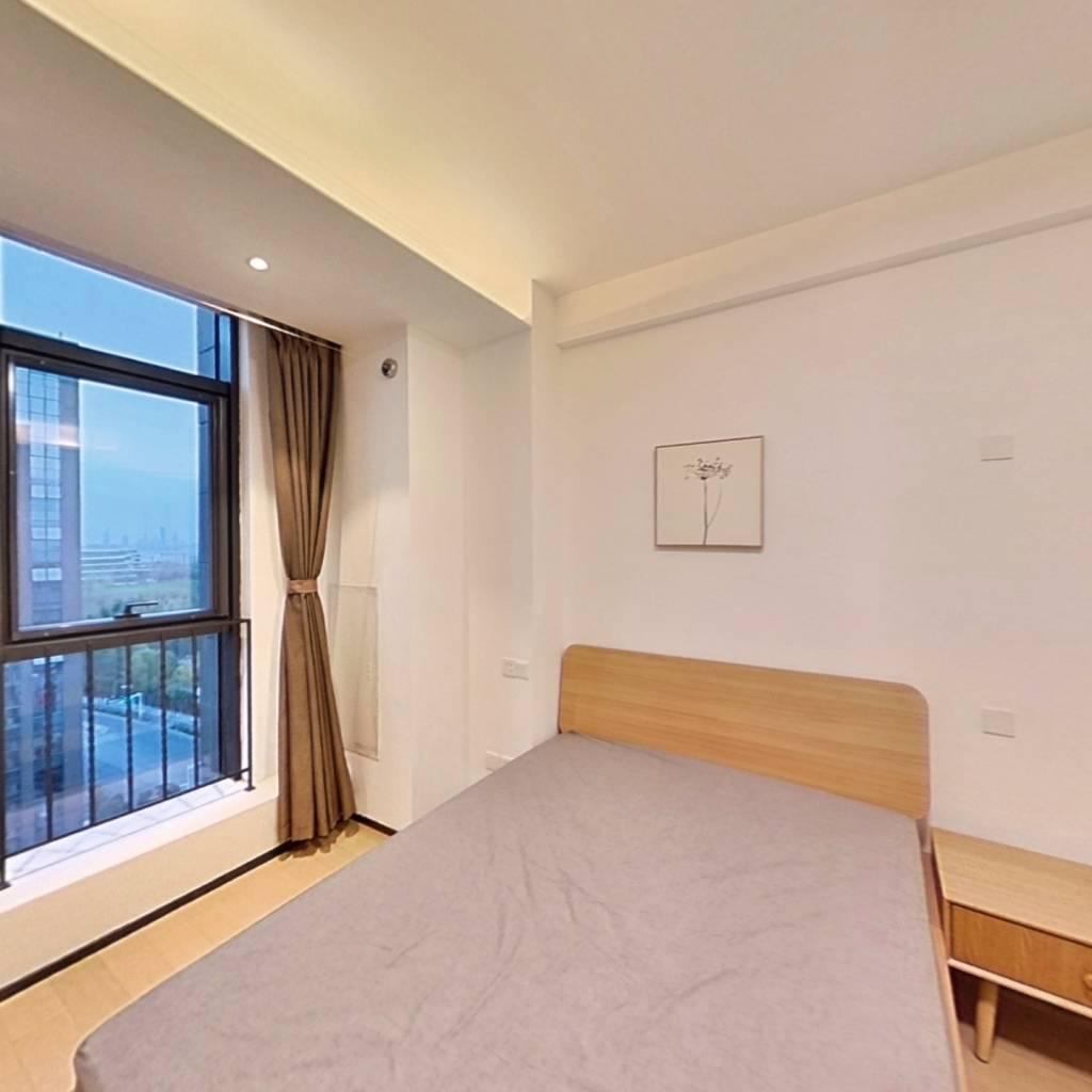 整租·雨花客厅 1室1厅 北卧室图