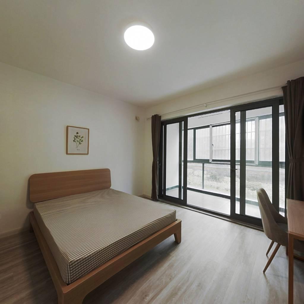 合租·逸景佳苑 4室1厅 北卧室图