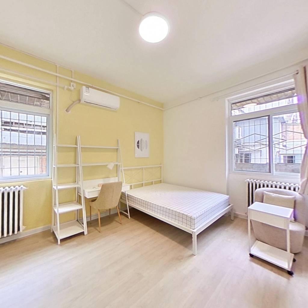 合租·花园路1号院 3室1厅 东南卧室图